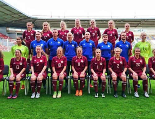 WU-19 izlases starts UEFA Eiropas čempionāta kvalifikācijas turnīrā